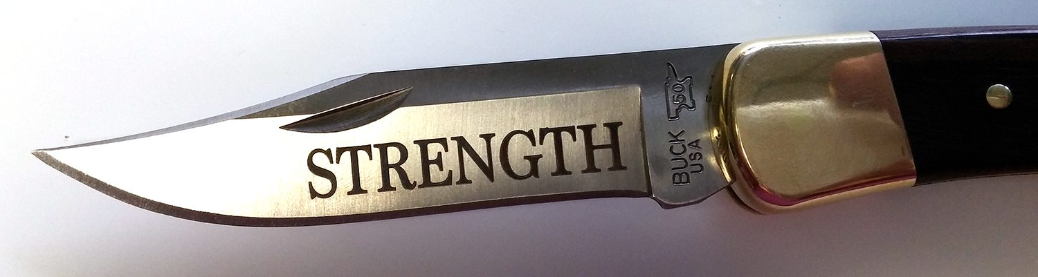 Personalized Knives Are Glorious Blades We Engrave Knives