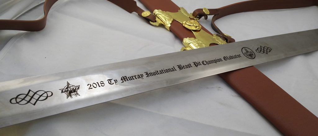 An Engraved Knife